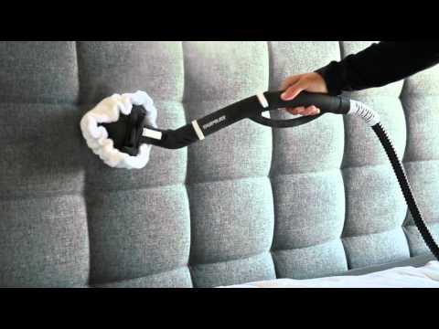 Verwendung eines Dampfreinigers zur Reinigung von Polstermöbeln und Beseitigung von Bettwanzen
