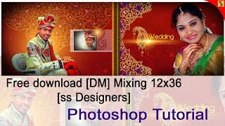 Get Free Wedding Photo Albums Templates 12x36 Onliness free psd#258