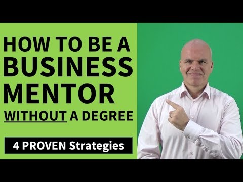 How To Become A Business Mentor Without A Degree
