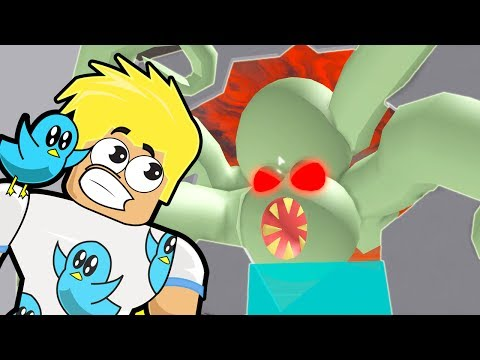 Giant Zombie Squidward in Roblox / Escape the Obby Ship / Gamer Chad Plays