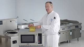 Midea Demonstartion Video on 1834G1A & 2134G1A Commercial Microwaves
