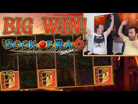 Big Win in Book of Ra 6!