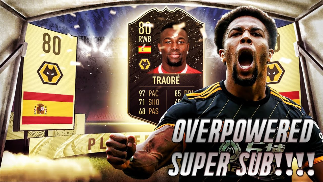 Best Inform Adama Traore 80 Player Review Fifa 20 Player Review Best Super Sub Ever Youtube