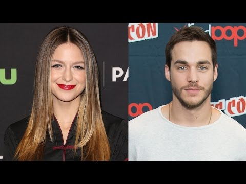 Supergirl's Melissa Benoist CAUGHT Kissing Costar Chris Wood