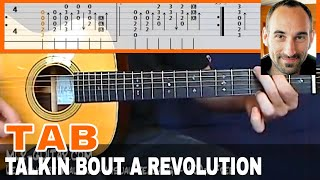 """Guitar Cover / Tab """"Talkin' Bout A revolution"""" by MLR-Guitar"""