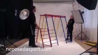 Спортакус-Адмирал  детский спортивный комплекс(Детский спортивный уголок производства компании