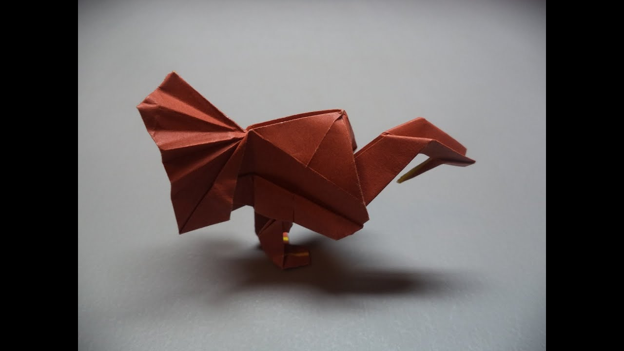 how to fold an origami turkey youtube