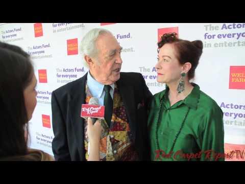 James Karen & Alba Francesca at the Actors Fund 18th Annual #TonyAwards Viewing Party #ActorsFundLA