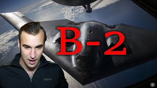 Estonian soldier reacts to B-2 Stealth Bomber