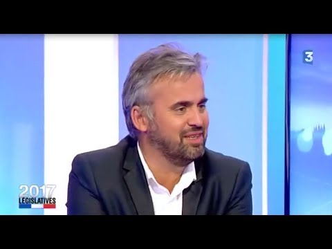 """Alexis Corbière invité """"Débat sur les  Elections législatives 2017"""" sur France 3 le 07/06/2017"""