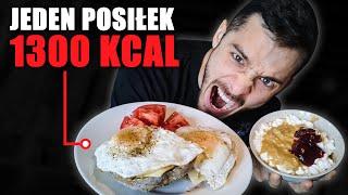 Moja DIETA na SPALANIE TŁUSZCZU | Jeden posiłek 1300kcal!?