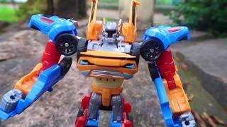 Tobot Tritan X Y Z Gabungan 3 Tobot - Unboxing Mainan Anak Car Robot Transformers