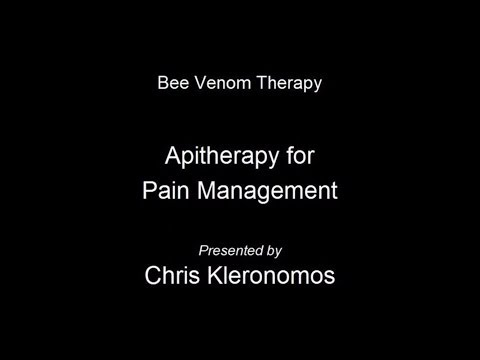 Bee Venom Therapy (Apitherapy) for Pain Management Feat. Chris Kleronomos