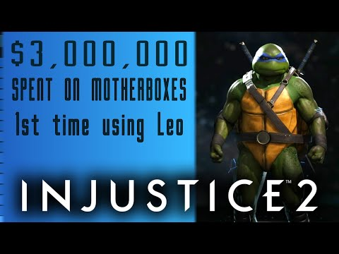 INJUSTICE 2 | TBH | Spending 3 MILLION On TMNT got almost nothing some Epic Gear & MORE ;D