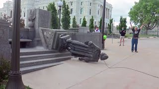 New Fallout After Christopher Columbus Statue Toppled At Minnesota Capitol