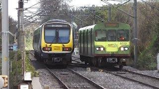 IE 29000 Class DMU Train 29425 - Clontarf Road Station, Dublin