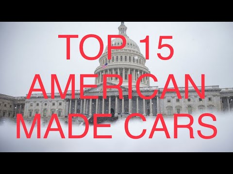 The TOP 15 Most American Made Cars