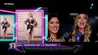 Fernanda Keulla Não Tem Garantia Se Continuara Como Repórter Do Bbb