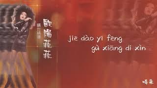 【Official Audio Lyrics Video】歐陽菲菲Ōu Yáng Fēi Fēi《曠世精選》-〈喝采hè Cǎi〉官方動態歌詞版MV