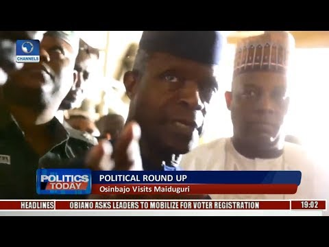 Political Round-Up: Osinbajo Visits Maiduguri