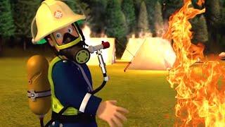 Sam il Pompiere italiano nuovi episodi   Fuoco da campeggio - Episodi nuovi 🔥Cartoni animati