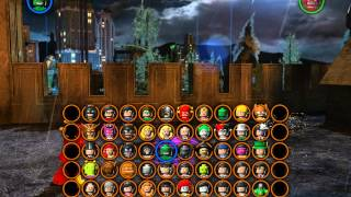 Показ персонажей в игре LEGO Batman 2 DC Super Heroes. 2 часть