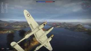 War Thunder - P38G The Lightning Never Strikes The Same Place Twice