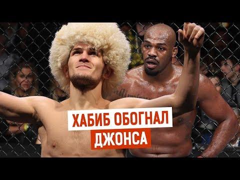 Хабиб Нурмагомедов обошел Джон Джонса а рейтинге лучших бойцов вне зависимости от весовой категории