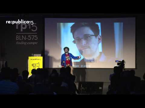 re:publica 2015 – Jérémie Zimmermann: Fighting that Terminator in our Pockets on YouTube