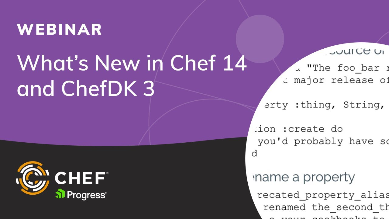 What\'s New in Chef 14 and ChefDK 3 - YouTube