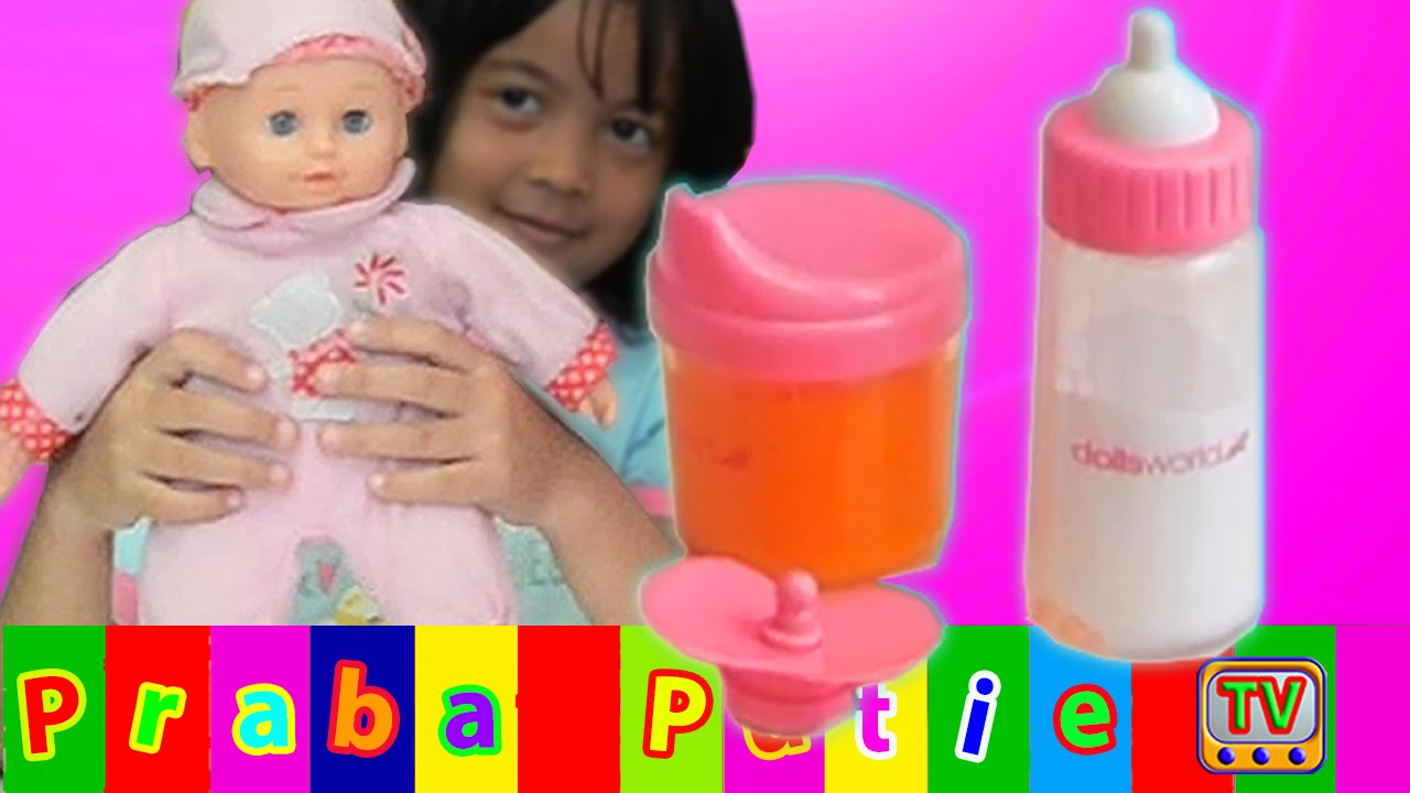 Boneka Bayi Minum Susu YouTube