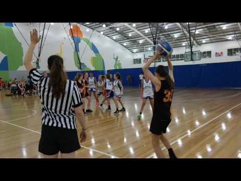 Southern Pen U16 Girls team 2 v Melbourne Tigers
