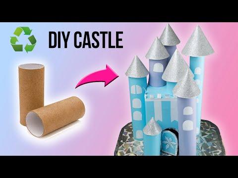 diy-castle-of-toilet-paper-rolls- -toilet-paper-tube-crafts- -how-to-make-cardboard-castle