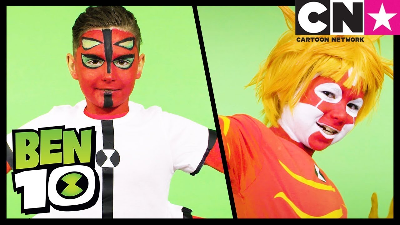 Ben 10 | Full Four Arms & Heatblast Costume Cosplay ...
