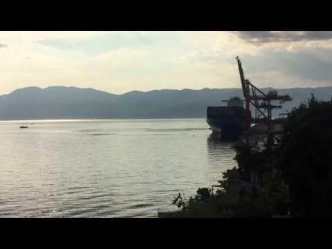 Maersk Alfirk mooring at Brajdica, Rijeka