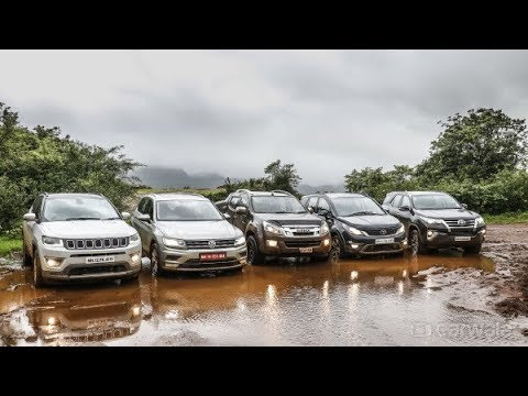 CarWale Off Road Day 2017 | Top SUV Comparison