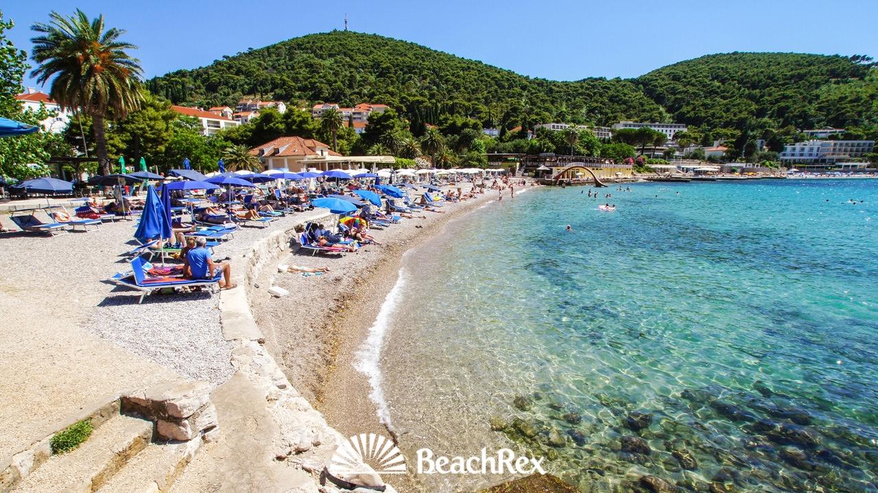 Beach Lapad Dubrovnik Croatia