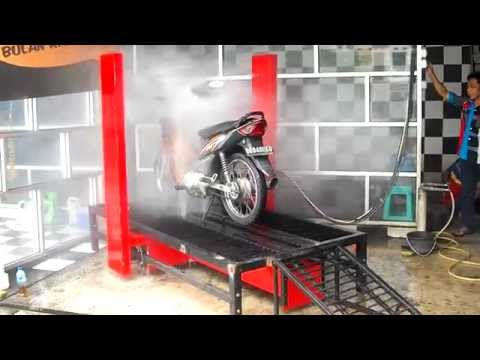 PATENT-Automatic motorcycle wash,BD1.PORTABLE, heavy-light motorcycle
