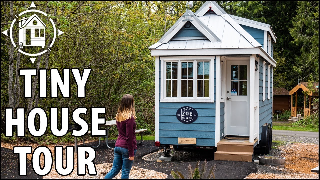 You Can Live In This Tiny House Community Youtube