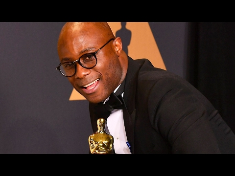 Barry Jenkins Interview Oscars Carpet