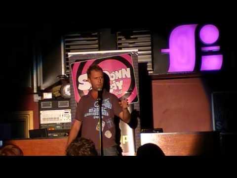 Donk Comedian Matthew Newell Bank Vault Bar Brisba...