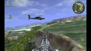 🏁 Военный санитарный вертолет -- через Разрушенный поселок и Проклятый лес к заброшке с Пилотами
