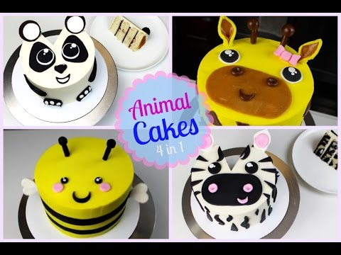 Top 4 Easy And Tasty Animals Cakes Very