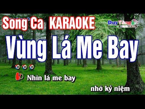 Vùng Lá Me bay Karaoke Song Ca - Nhạc Sống Duy Tùng