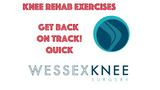 Pre and Post Knee Surgery Rehab Exercises and Stretches