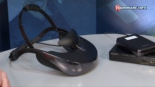 Sony HMZ-T3W personal 3D viewer headset review - Hardware.Info TV (Dutch)