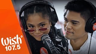 """Ylona Garcia (feat. Jay R) performs """"Maybe A Little Bit"""" LIVE on Wish 107.5 Bus"""