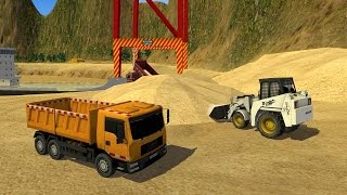 Loader & Dump Truck Builder (by TrimcoGames) Android Gameplay [HD]