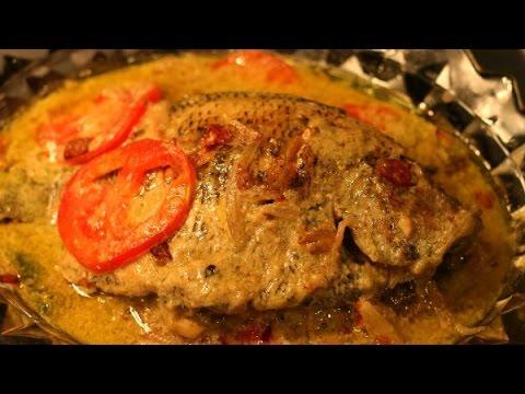 Fish Molee /Kerala Style Fish Stew/Karimeen Fish Molly