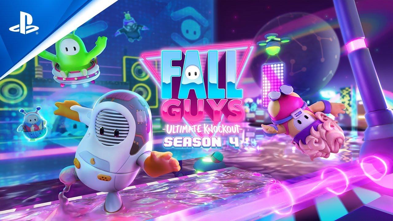 Tráiler cinemático de Fall Guys temporada 4